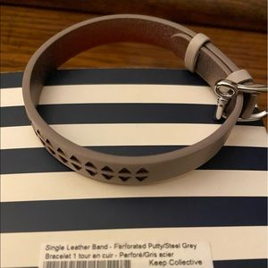 KEEP Collective Perforated Putty Bracelet